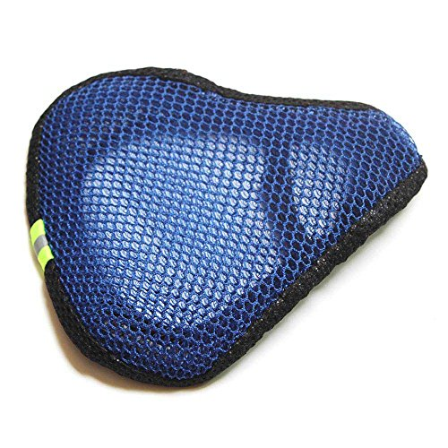 HuntGold 1X Mesh Breathable Soft Elastic Saddle Seat Cover for MTB Bicycle Bike Accessories(blue)