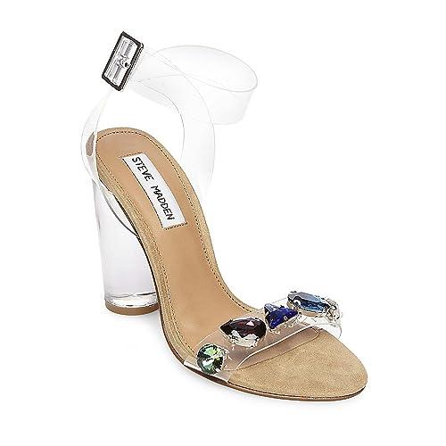 48915e8364e Steve Madden Women s Control Clear 415 5.5 US  Amazon.ca  Shoes ...