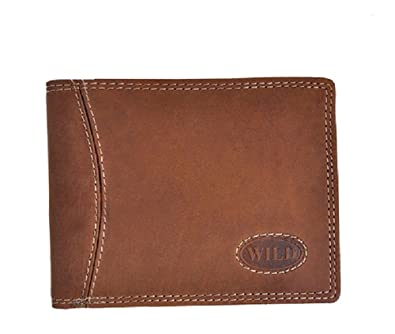 4613d5e42ef42a Buffalo Wild Edition Leather Gents Wallet in Sleek Design: Amazon.co.uk:  Shoes & Bags