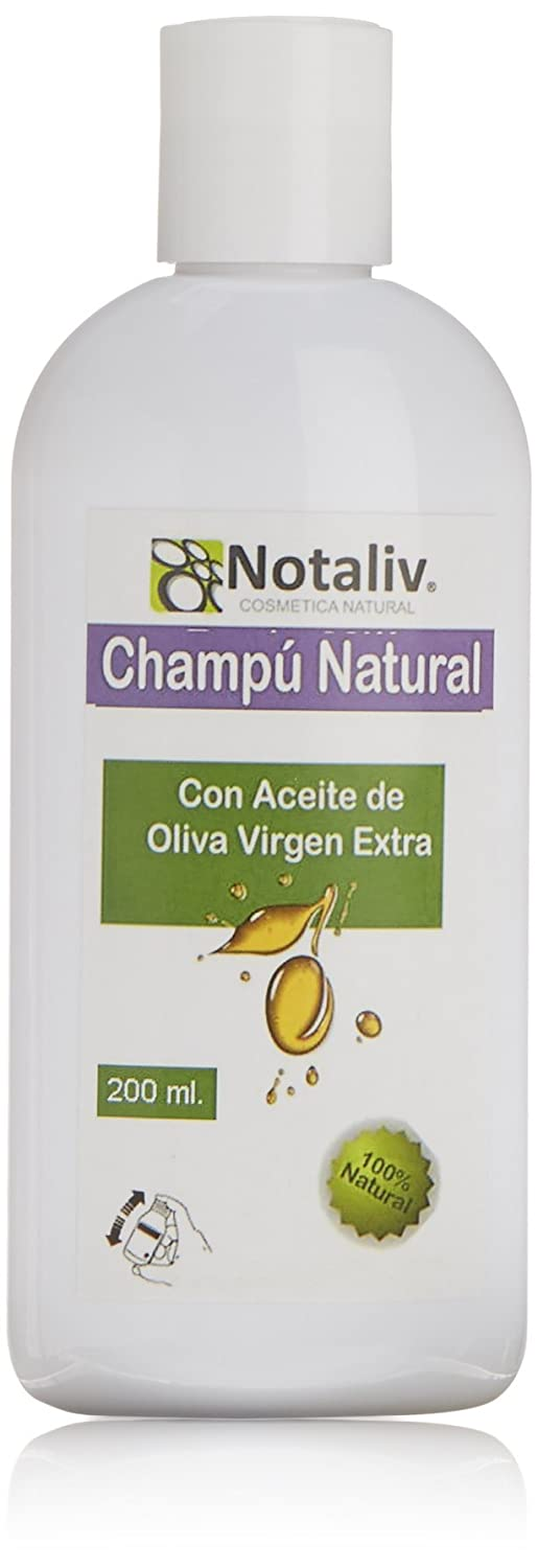 Amazon.com: Notaliv Cosmética Natural Champú Aove Todo Tipo Cabellos Oil, 200 ml: Beauty