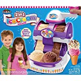 Cra-Z-Art 2 In 1 Ice Cream Maker Makes 2 Delicious Flavors In 10 Minutes