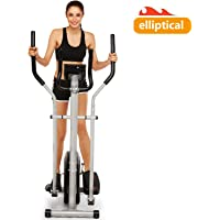 Bestlucky Elliptical Trainer Machines Magnetic Elliptical Workout Machine for Home Use (US Stock)