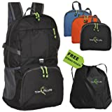 #1 TravPack-30L Best Quality Foldable Lightweight Backpack Daypack-Water Resistant with Premium Waterproof Zippers For Active Lifestyle And Travel