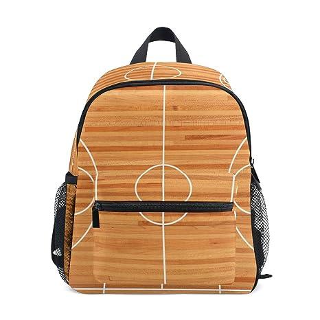 LUPINZ - Mochila de Baloncesto para niños, diseño de Canasta de ...