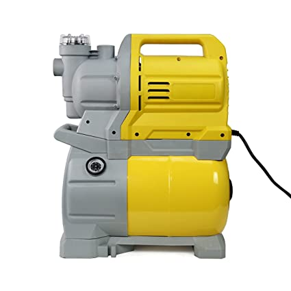 1-3/4 HP Shallow Well Water Booster Pump Home Garden With Tank