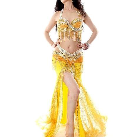 Bangxiu-Belly Dance Disfraz de Danza del Vientre Vestido de ...