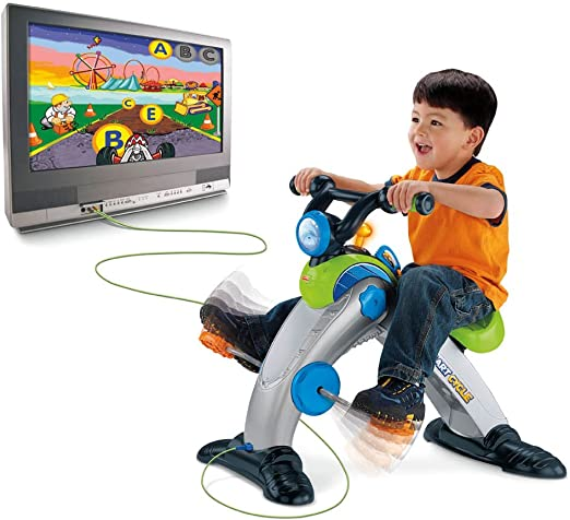 Amazon.es: Fisher-Price Smart Cycle Racer Physical Learning Arcade System by