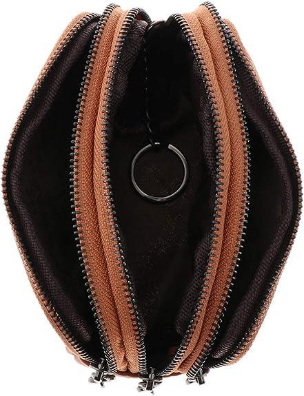 5 Caoutchouc Squeeze ovale porte-monnaie homme femme argent titulaire portefeuille-MADE IN USA