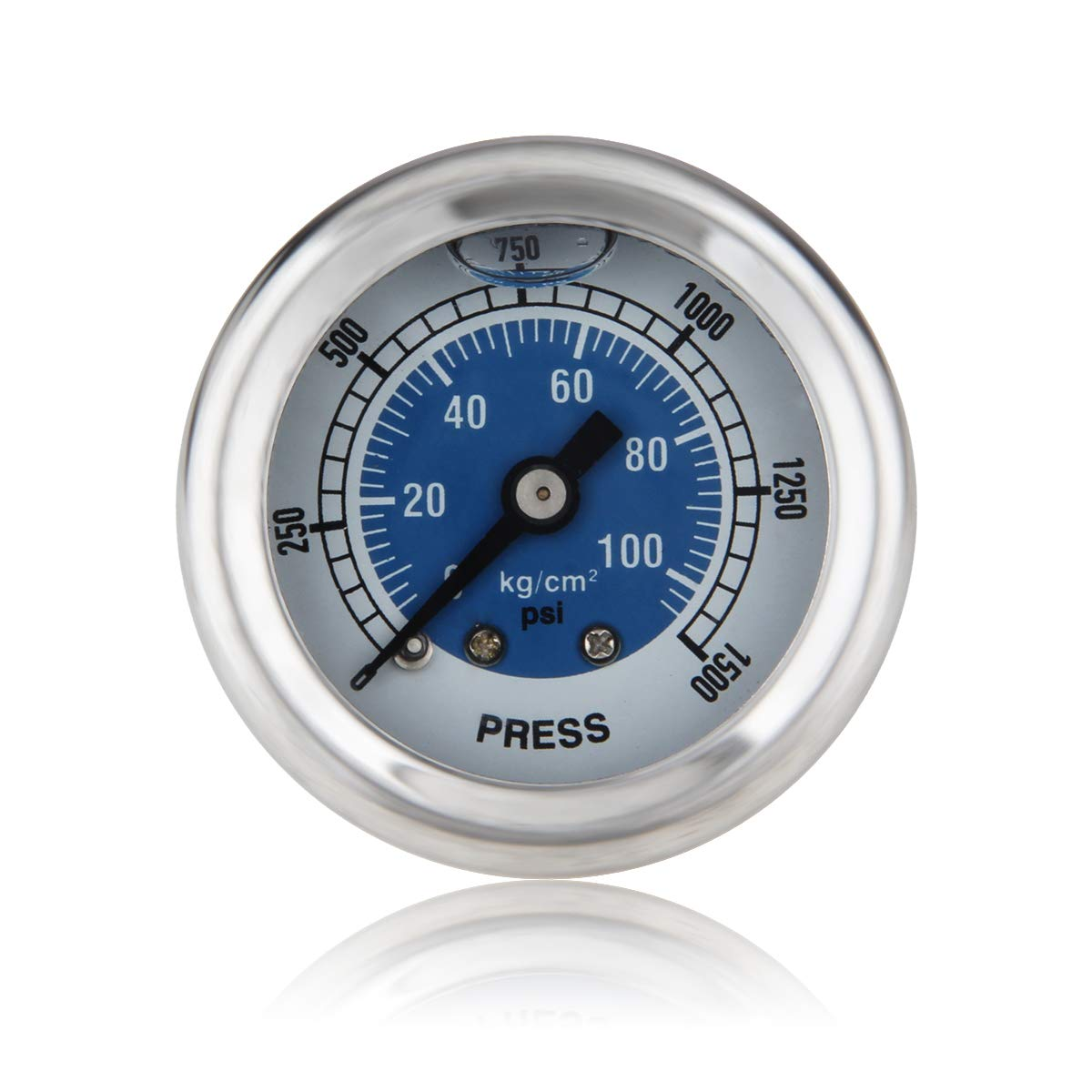 Red Dracary Nitrous Pressure Gauge Work for NOS OR NX