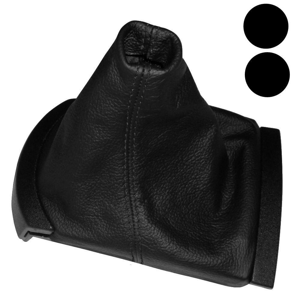 AERZETIX - Soufflet Levier de Vitesse en 100% Cuir vé ritable Coutures Noires pour Seat Ibiza 2002-2008 3800946191445