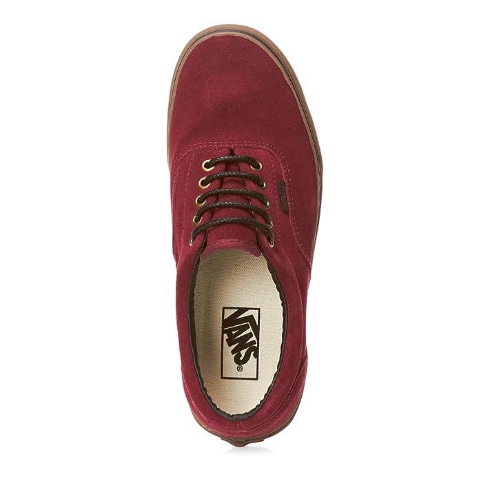 22cb5e4ac3 Vans Era Shoes Tawny Port Gum - Red Black Gum - 10 UK  Amazon.co.uk  Shoes    Bags