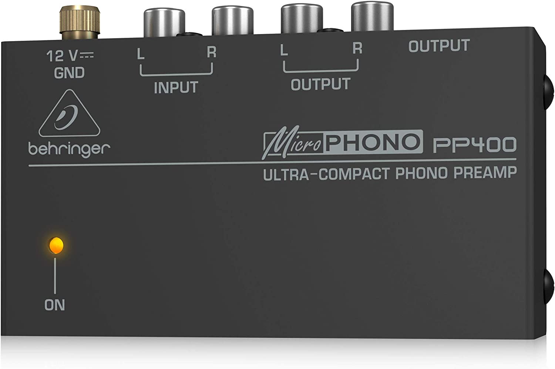 BEHRINGER PP400 - Behringer Pre Microphono Pp400: Amazon.es ...