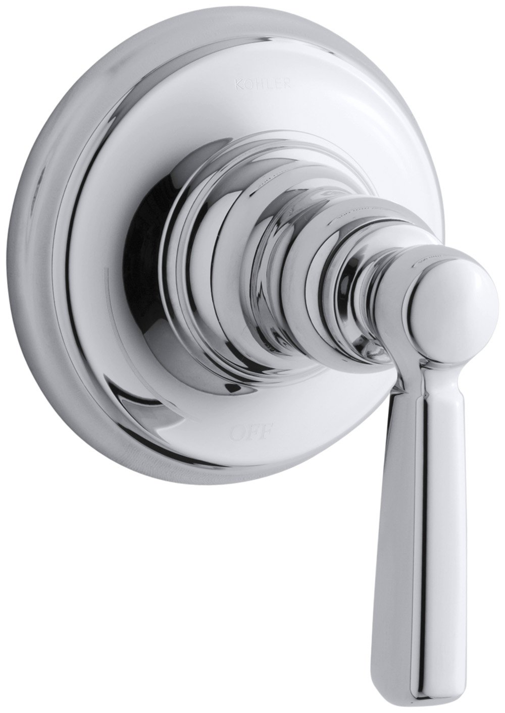 KOHLER T10596-4-CP Bancroft Volume Control Trim, 1, Polished Chrome