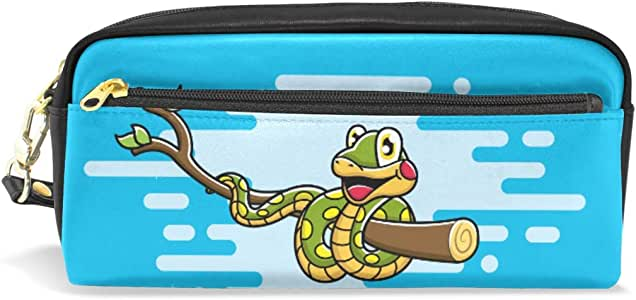Estuche para lápices de Anaconda con diseño de dibujos animados: Amazon.es: Oficina y papelería