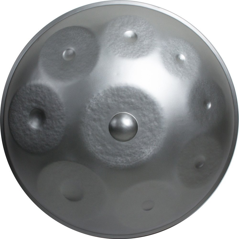 Handpan 9 Notes with Softcase and Cover (22.8 inch (58cm), D-minor)