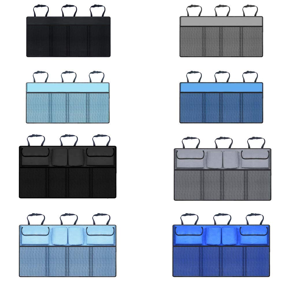 Super Capacity Car Organiser Space Saving Expert Equipped With Yozhanhua Car Boot Organiser Car Boot Tidy Storage Bag with Lids Robust Elastic Net 3 Magic Stick
