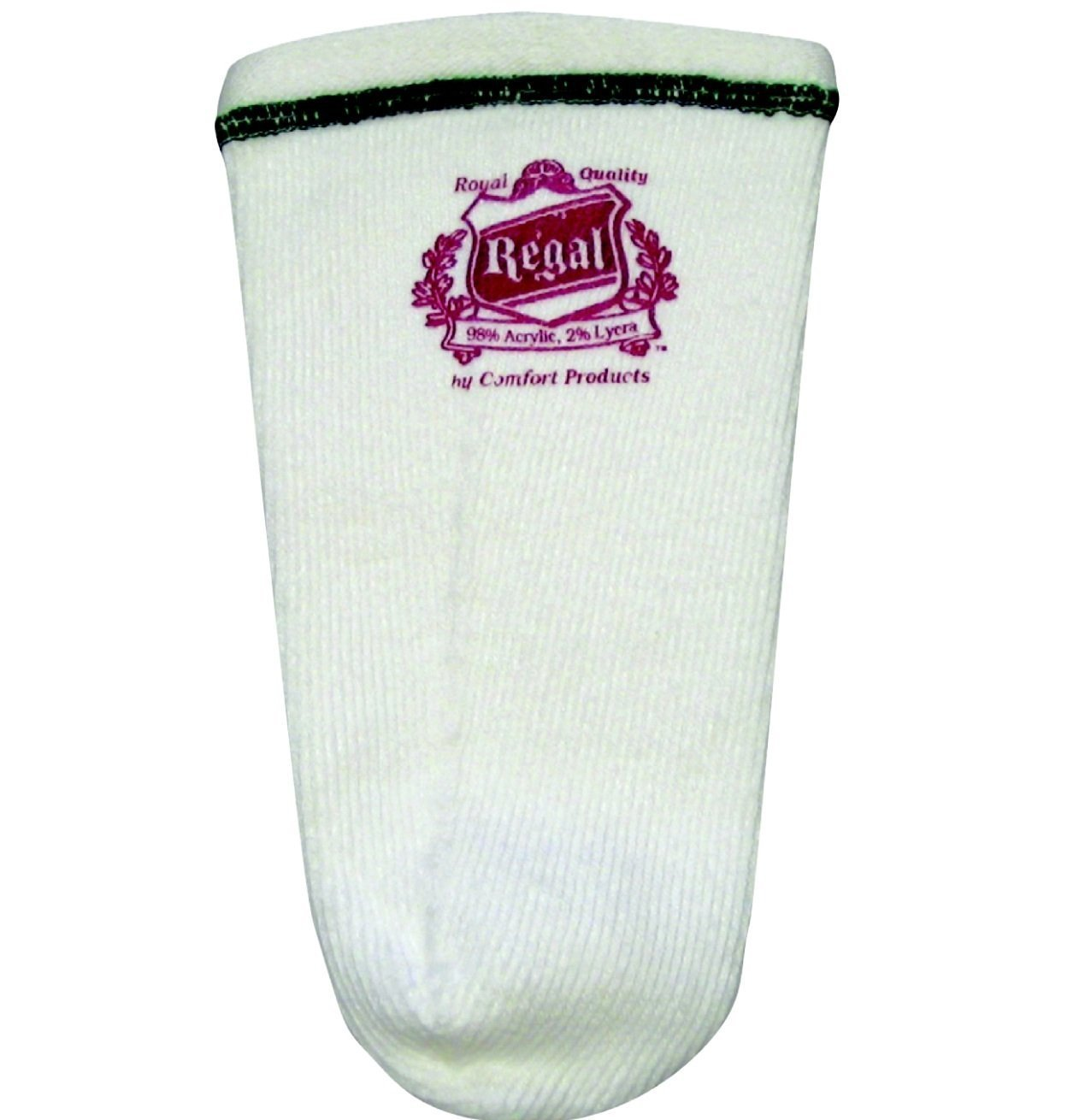 Regal Acrylic Stretch Prosthetic Sock 5 Ply No Hole Med Short PSRMDSH5 by Regal