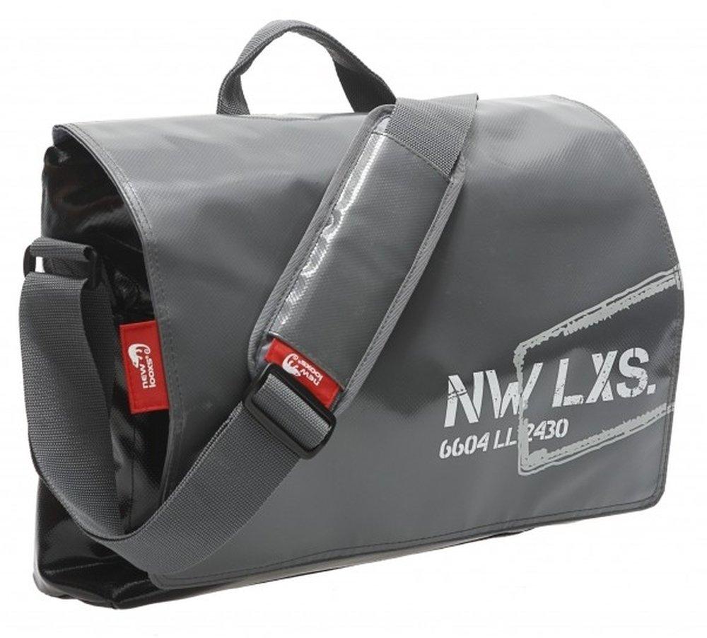 pannier postino office bisonyl 16l grey black by New Looxs B00G007HSW