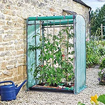 Tomato GroZone Max - Double Sided Garden Shelter Growing Growbag Structure  Greenhouse Polytunnel