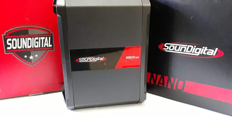Soundigital Sd 3000 1d Nano Mono Verstärker 3000 Watt Elektronik