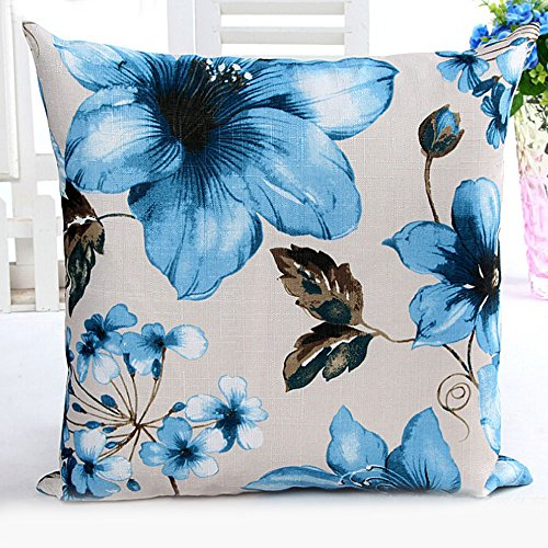 43cmx43cm Colorful Eyes Home Bed Sofa Decor Pillow Case Cover - 4