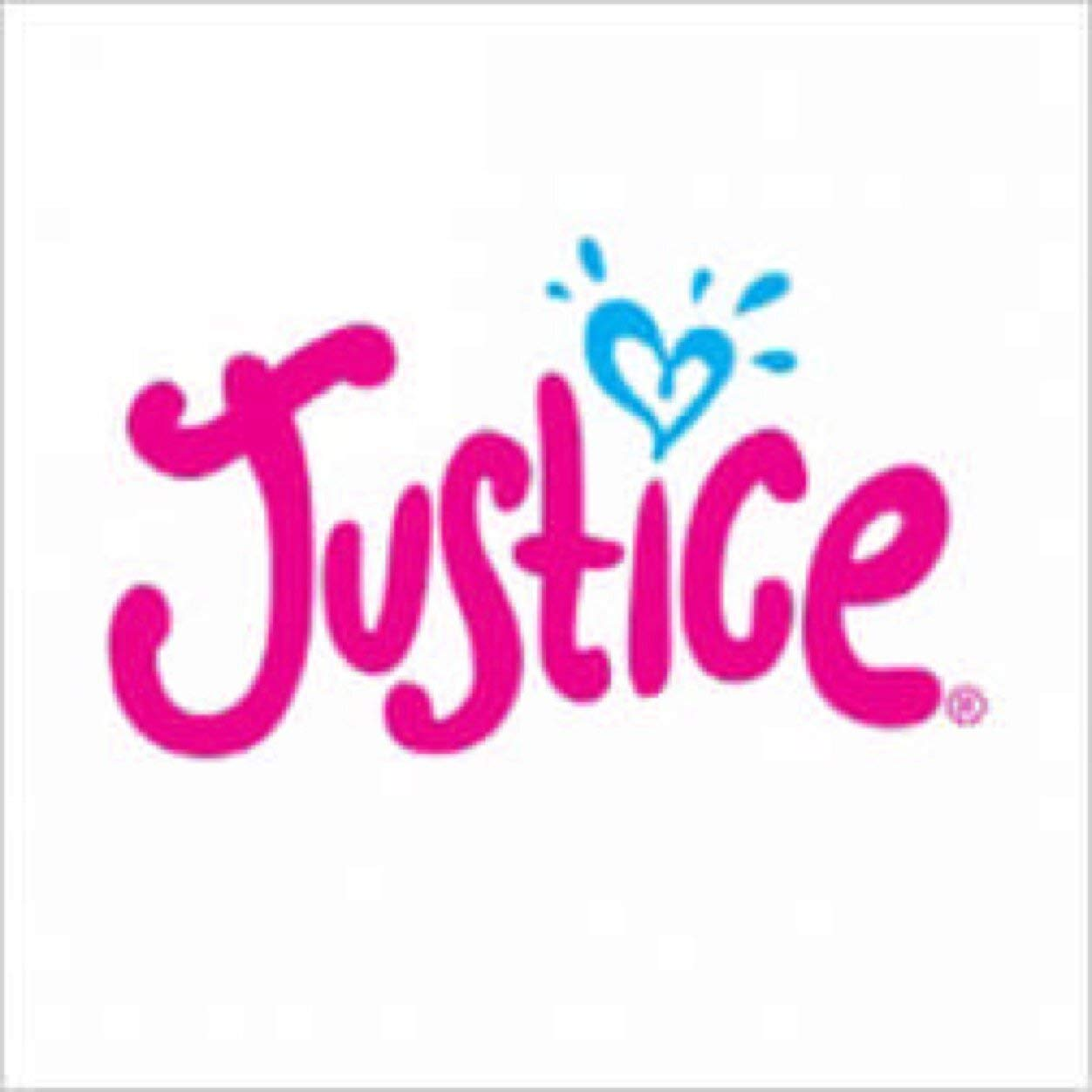 Justice Silver Metallic Glitter Logo Jumbo Belt Bag by Shop Justice (Image #1)
