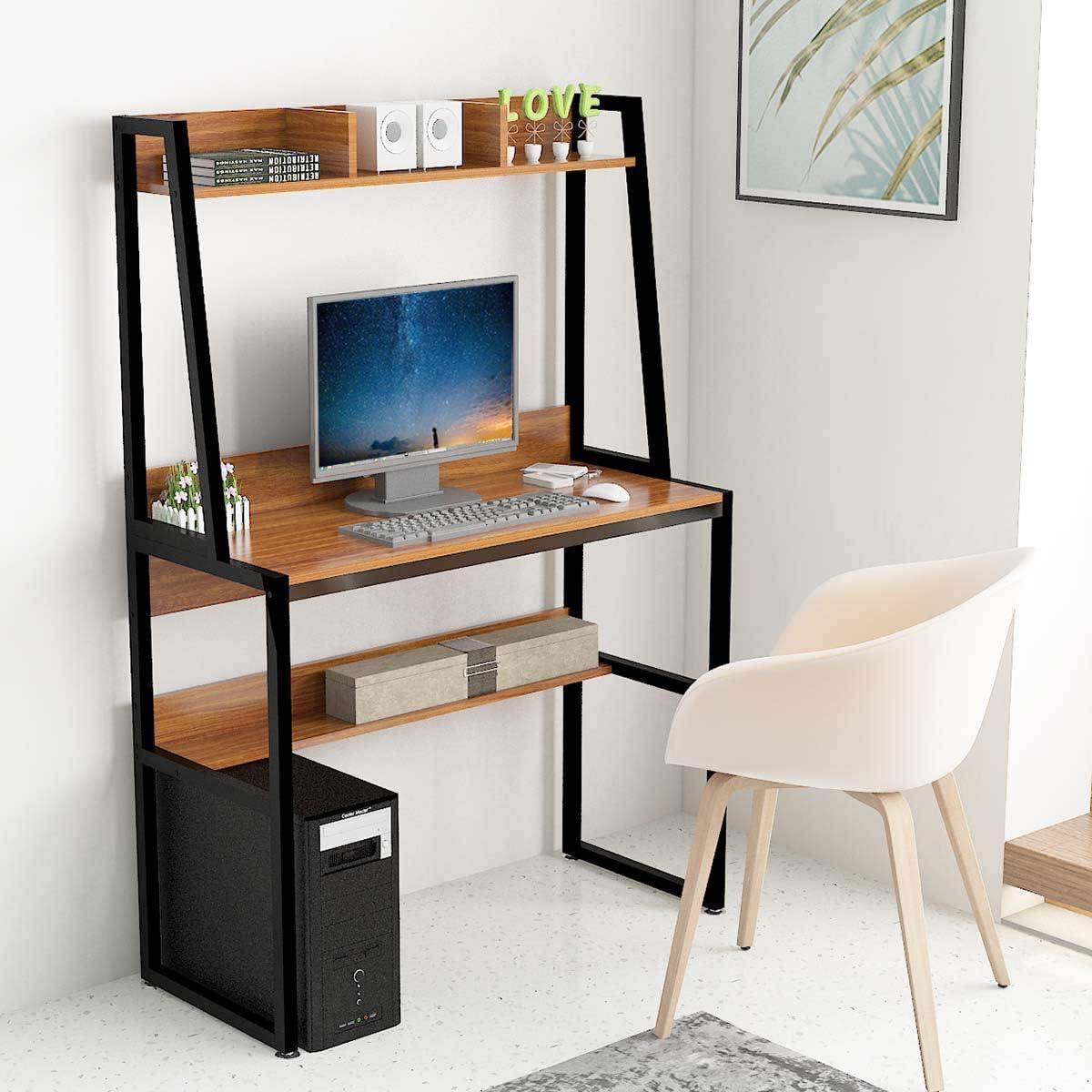 Yurupa Computer Desk Office Desk Workstation