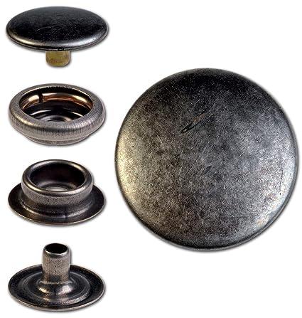 Hoppe & Masztalerz 100 Anillo Muelle de botones de presión F3 15.5 mm de latón