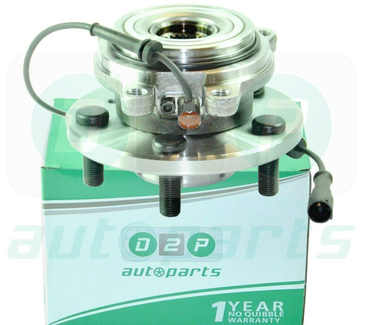 D2P TAY100050, TAD100010, 18TAY100050 Wheel Bearing HUB