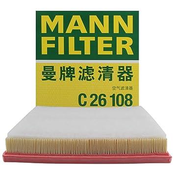 Mann Filter C 26 108 Filtro de aire: Amazon.es: Coche y moto