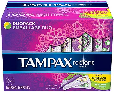 Tampax 29936 Radiant Tampons Regular product image