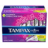 Tampax 29936 Radiant Tampons Regular Super