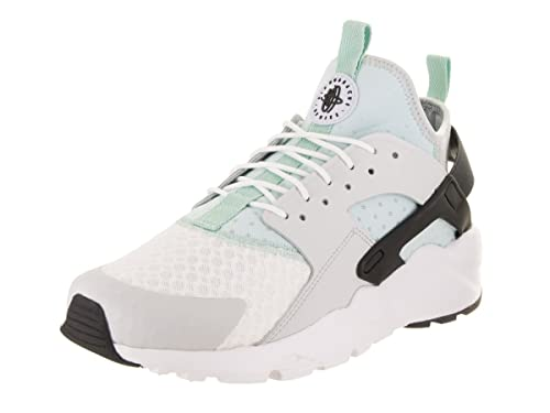 detailed look 95534 371d4 Nike Men s Air Huarache Run Ultra Pure Platinum Black Igloo Running Shoe 12  Men US  Buy Online at Low Prices in India - Amazon.in