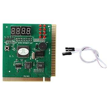 Naliovker Tarjeta Diagnostico Digital con Display pa PC (PCI/ISA ...