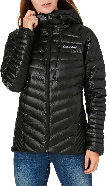 Navy Blue Sports Outdoors Full Zip Berghaus Womens Nula Micro Jacket Top Long