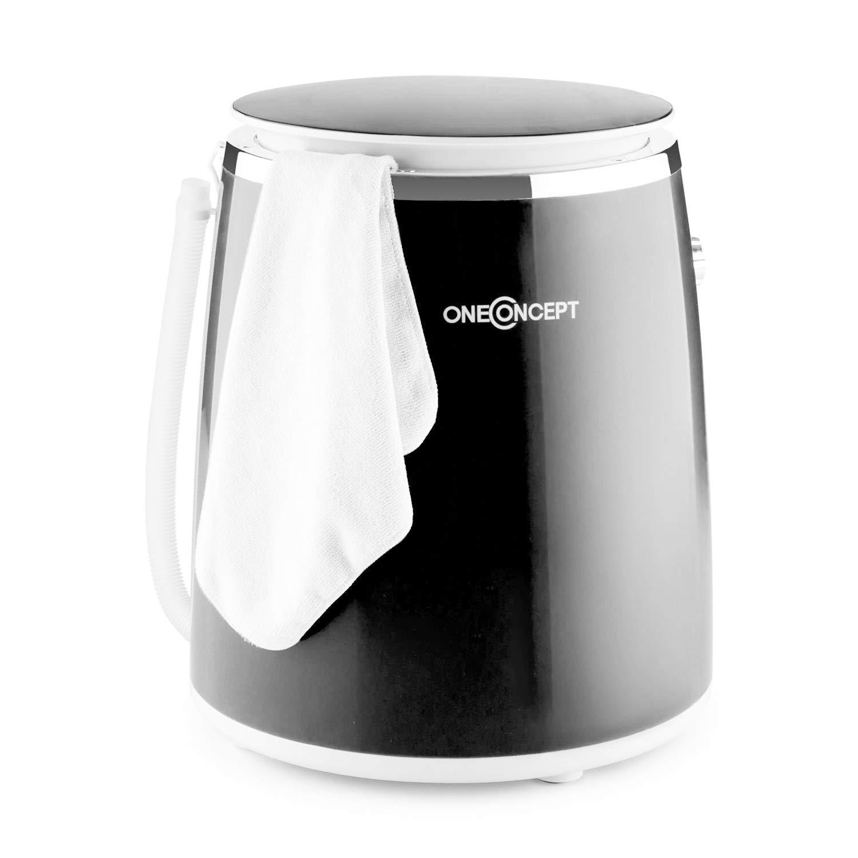 OneConcept Ecowash-Pico Mini lavadora con centrifugadora para ...