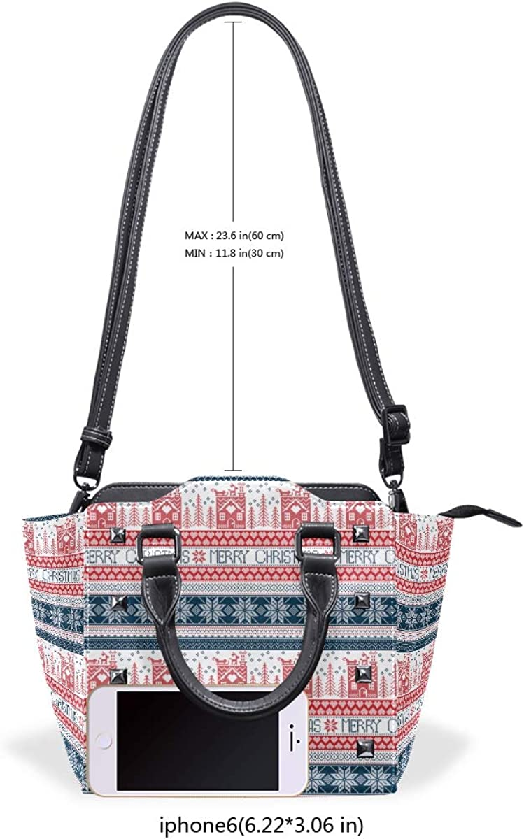 Cable Knit Christmas Stockings Womens Classy Satchel Handbag Handbag With shoulder Strap Crossbody Bag