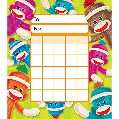 Sock Monkeys Incentive Pad, Pack of 36 (T73075)