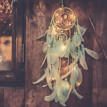 Led Christmas Tree Hemp Hanging Lamp Home Bedroom Decoration Small Night Light Led Night Lights