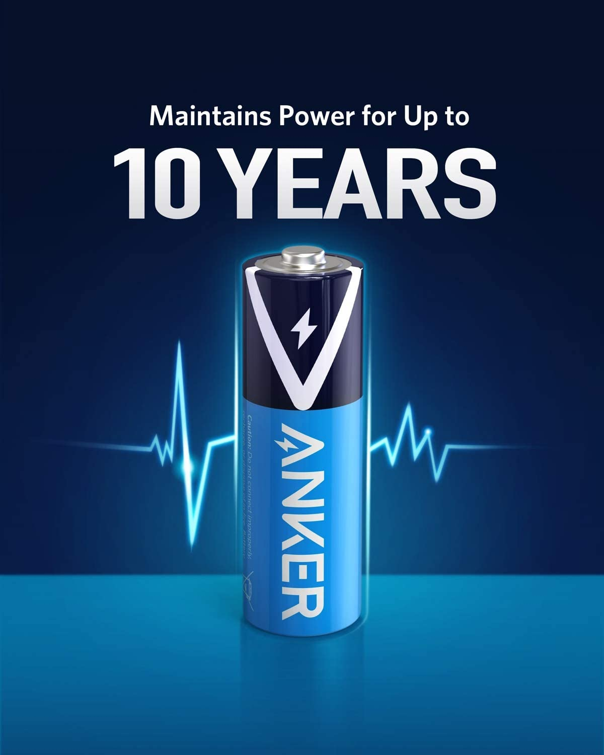 Non-Rechargeable Long-Lasting /& Leak-Proof with PowerLock Technology Anker Alkaline AAA Batteries 48-Pack High Capacity Triple A Batteries with Adaptive Power and Superior Safety