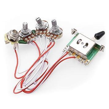 61tftgVpj4L._SY355_ amazon com rocket wiring harness prewired 1 volume 2 tone control EZ Wiring Harness Diagram Chevy at bayanpartner.co