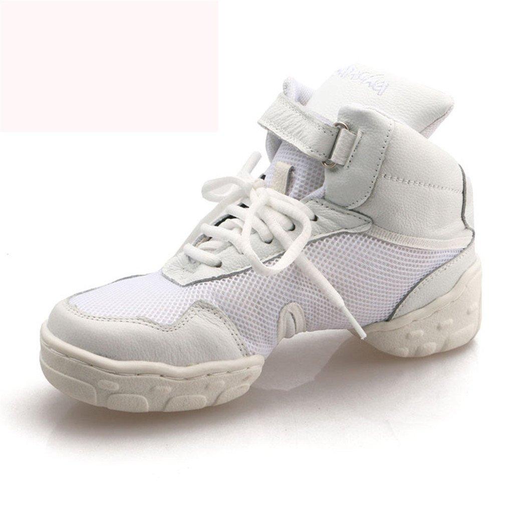 ZQ@QXRespirant confortable moderne Jazz chaussures en cuir chaussures femmes chaussures en cuir chaussures de danse hip-hop