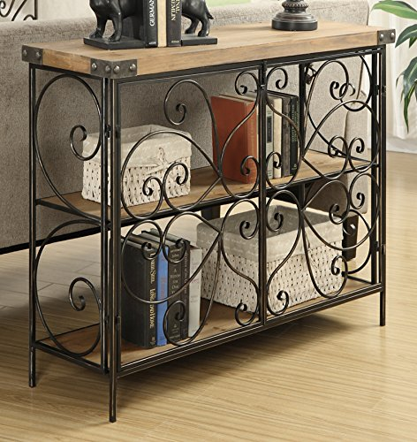 wire console table - 2