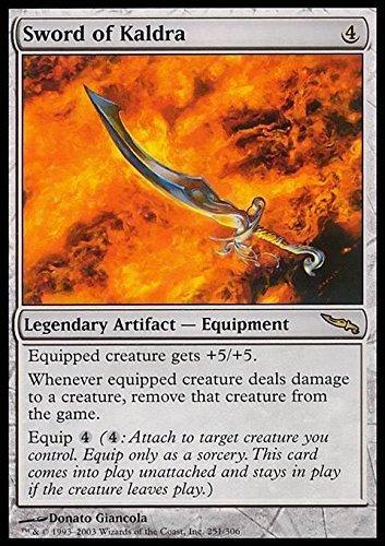 Magic  the Gathering - Sword of Kaldra - Mirrodin