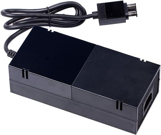 Pandaren® Adaptador de CA Xbox One fuente de alimentación con cable de alimentación del EU Plug: Amazon.es: Videojuegos