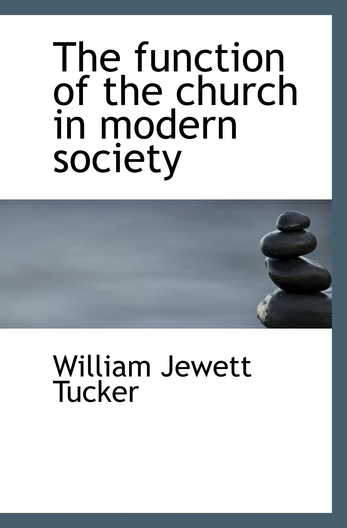 Download The function of the church in modern society PDF
