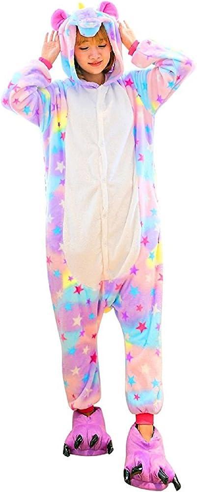 Unicorn Onesie - Pijama de Dibujos Animados para Adultos, para ...