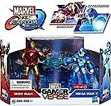 Marvel Gamerverse Marvel vs Capcom: Infinite Iron Man & Mega Man X Exclusive Action Figure 2-Pack