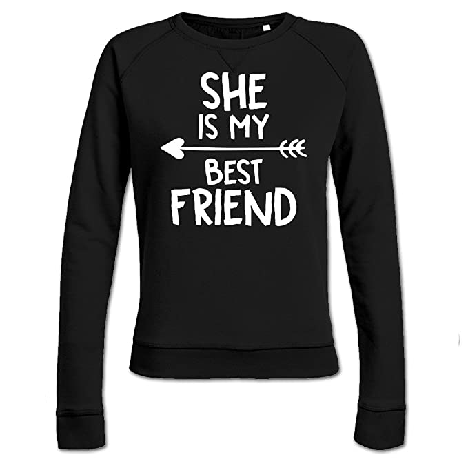 Sudadera de mujer She Is My Best Friend by Shirtcity: Amazon.es: Ropa y accesorios