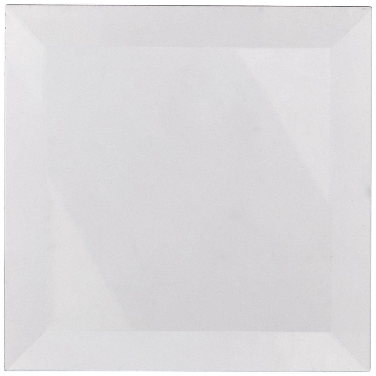 Amazoncom School Specialty Square Glass Bevels X - Clear glass tiles 4x4